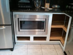 Now You See My Vision For The Microwave Cabinet Complete, And How It Was All