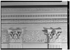 State Dining Room Crown Detail White House