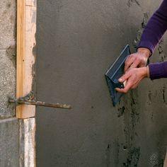 Comment enduire une façade? – BricoBistro Facade, Construction, Tools, Diy, Images, Dessert, Technology, Straws, Building