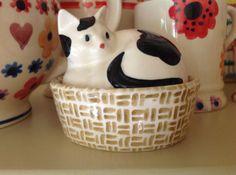 Emma Bridgewater Cat Egg Coddler