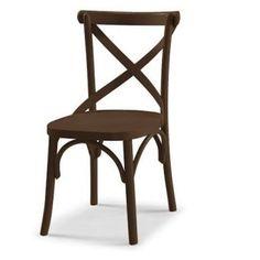 Compre Cadeira XMarrom Escuro e pague em até 12x sem juros. Na Mobly a sua compra é rápida e segura. Confira!
