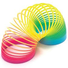 Slinky...fun till it got tangled