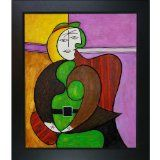 overstockArt Pablo Picasso The Red Armchair 20-Inch by 24-Inch Framed Oil on Canvas - #art #artwork #popularartwork #paintings #homedecor -   20-inch by 24-inch oil painting on canvashand painted oil reproduction of a famous picasso painting, the red    ...BTW,Please Check this out:  http://artcaffeine.imobileappsys.com