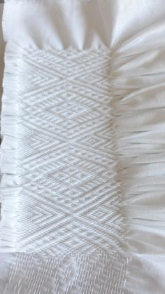 Folk Embroidery, Fabric Manipulation, Smocking, Stitch, Sewing, Handmade, Embroidery, Dirndl, Breien