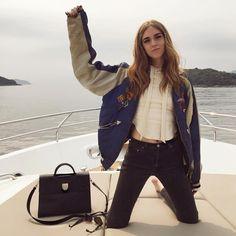 @chiaraferragni in the #ayai Croft hoodie