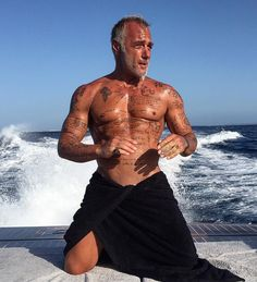 "Gianluca Vacchi is a 50-year-old ""hot as hell"" businessman who knows how to enjoy life,horse,rides, yacht trips with the stars and dance!"