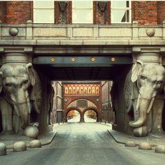 Old Carlsberg Brewery in Copenhagen