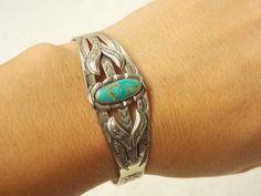 Vintage Native American Tribal Design Sterling by MtnHighCoins