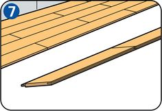 Laminate flooring is a quick and easy way to give your living room, kitchen or bedroom a new look. You can get started straight away with these instructions and tips. Laying Laminate Flooring, Cordless Power Tools, Garden Equipment, Planks, Room Kitchen, Diy, Living Room, Bedroom, Interior