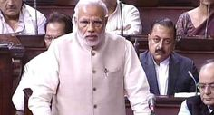 Constitution only way forward, says PM #Modi in #RajyaSabha