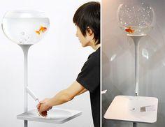 The Fishbowl Sink Urges You To Conserve... Ooooooooor Kill A Helpless Goldfish