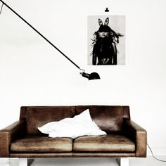 "Light At Home. By "" Fru Stilista"" -★- leather sofa My Living Room, Living Room Interior, Home And Living, Cuir Chesterfield, Interior Architecture, Interior And Exterior, Interiores Design, Home Fashion, Interior Inspiration"