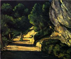Values are key to powerful paintings: Paysage, Paul Cezanne