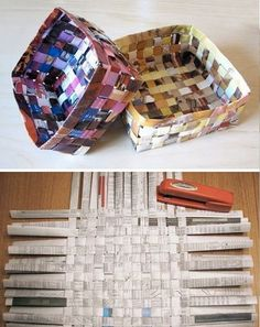 Amazing things to do with old newspapers - DIY Ideas
