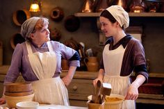 Downton Abbey's favorite staff  - Daisy tells Mrs. Patmore about her news