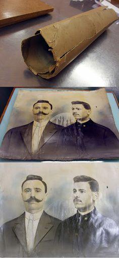 Laboratorio di restauro del libro - Abbazia di Praglia: NON SOLO STAMPE, DISEGNI E LIBRI.. ANCHE FOTO!!