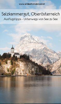 Von See zu See unterwegs im Salzkammergut in Oberösterreich & Salzburg Hallstatt, Reisen In Europa, Lithuania, Oahu, Where To Go, Night Life, Austria, Mount Everest, Travel Destinations