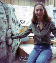 Connie McCrum (Editorial) at ILM circa 1977