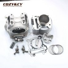 63mm/15mm 181cc Racing Big Bore Cylinder & Head Kit for