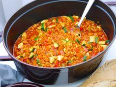 La Cocotte: Gemüse-Schmortopf mit roten Linsen_3   Rezept Dr. Alexa Iwan
