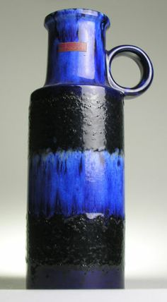 Scheurich 401 West German Pottery Fat Lava Modernist Mid Century Vintage Retro