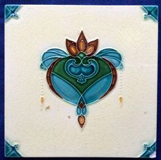 All these listed tiles are from my own personal collection of 20 plus years, and I am down sizing due to a house move. Tile Art, Mosaic Art, Azulejos Art Nouveau, Art Periods, Art Nouveau Pattern, Art Nouveau Tiles, Artistic Tile, Vintage Tile, Decorative Tile