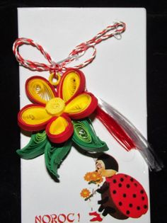 Sergal's quilling art Paper Quilling, Spring 2014, Christmas Ornaments, Holiday Decor, Cards, Christmas Jewelry, Maps, Christmas Decorations, Playing Cards
