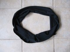 Sew Many Ways...: 30 Second No Sew Infinity Scarf...For a $1.50