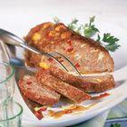 Gehaktbrood met paprika en champignons - recept - okoko recepten