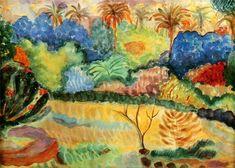 Paul Gauguin - Tahitische Landschaft