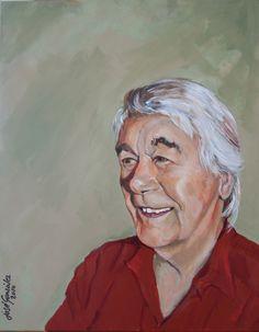 Piet Zijp  Acryl op doek 2015 José gonzález