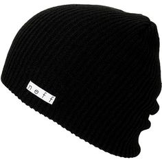 Neff Daily Slouch beanie for cold nights and good times. This neff beanie is a soft and stretchy knit hat that goes with any outfit
