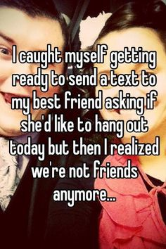 18 Reasons Why Friendship Breakups Are The Worst Kind Of Breakups. Because I think I may have lost a bit of my heart. Best Friend Breakup Quotes, Friendship Breakup Quotes, Love Breakup, True Quotes, Best Quotes, Funny Quotes, Friendship Sayings, Qoutes, Girl Friendship