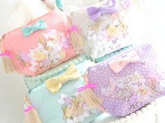 ♡ New product ♡ - Joe & Ruban ジョーアンドリュバン Bag Pins, Kawaii Diy, Vintage Box, Kids Bags, Cute Bags, Beaded Embroidery, Handicraft, Purses And Bags, Diy And Crafts