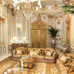 Interior design UAE Living room Villa Design, Interior Design Companies, Classic Interior, House Rooms, Luxury Living, Living Room Designs, Uae, Modern, Furniture