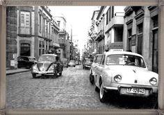 Santa Cruz -calle Castillo - año 1960 #canariasantigua #blancoynegro #fotosdelpasado #fotosdelrecuerdo #recuerdosdelpasado #fotosdecanariasantigua #islascanarias #tenerifesenderos