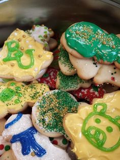 How Christmas cookies are made when your child is a Baylor Bear. #SicEm