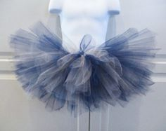 Navy and Silver Tutu/Dallas Cowboys Tutu - Other Colors Available