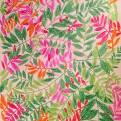 leaf print (VIKKI CHU)
