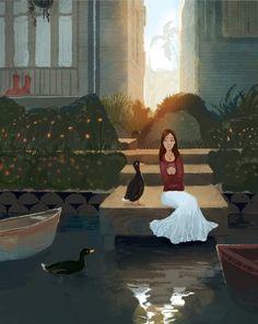 French Ducks in Venice | Erin McGuire