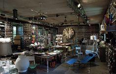Milan's Most Eclectic Destination For Art & Design Milan Design, Photo Wall, Interior Design, Concept Stores, Places, Milan Italy, Inspiration, Furniture, Retail