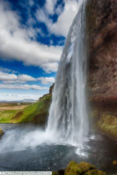 The glorious Seljalandsfoss - part of the Golden Circle, Iceland