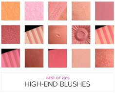 Top 16 of 2016: Best High-End Blushes