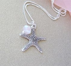 Starfish Jewelry Beach Jewelry Wedding Starfish by CherryHills, $32.00