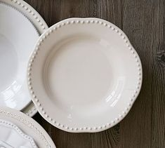 Emma Salad Plate, Set of 4 #potterybarn