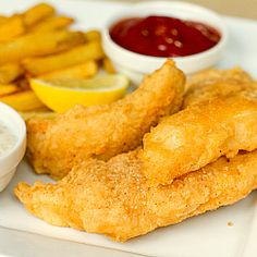 Beer Battered Cod | Fish and Chips | Brown Eyed Baker