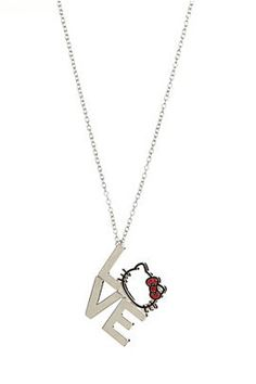 HELLO KITTY LOVE NECKLACE