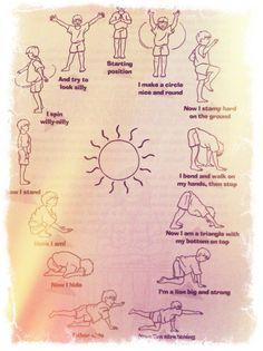 A Sun Salutation for Children
