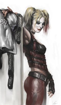 29443 - Batman: Arkham City: Harley Quinn Concept Art