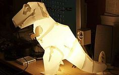 DIY Dino Lighting - Think Geek Creates Mega Mesozoic Craft Lamps (GALLERY)